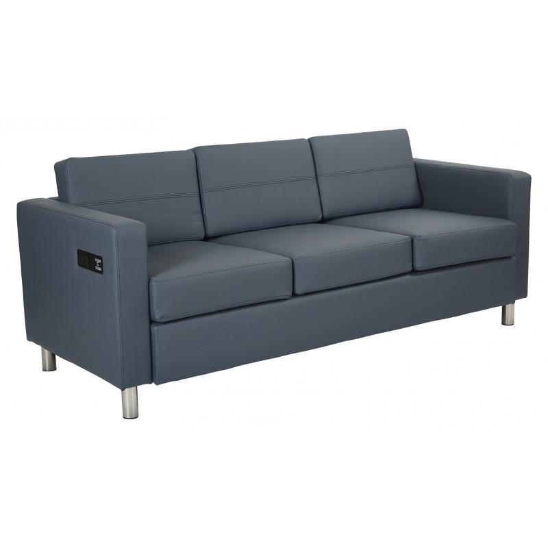 Work Smart Atlantic Sofa - Blue (ATL53-R105)
