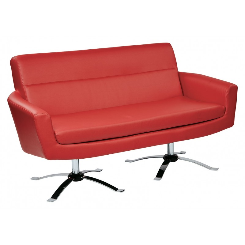 Ave Six Nova Loveseat - Red (NVA52-U9