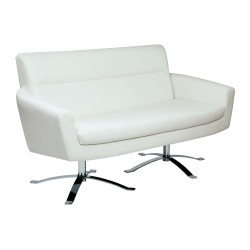 Ave Six Nova Loveseat - White (NVA52-W32)