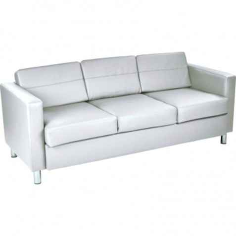 Ave Six Pacific Sofa Couch - Snow (PAC53-R101)