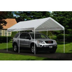 ShelterLogic Tractor Supply 9x16 Replacement Canopy Top - White (25809)  sc 1 st  KitSuperStore.com : tractor supply canopy - memphite.com