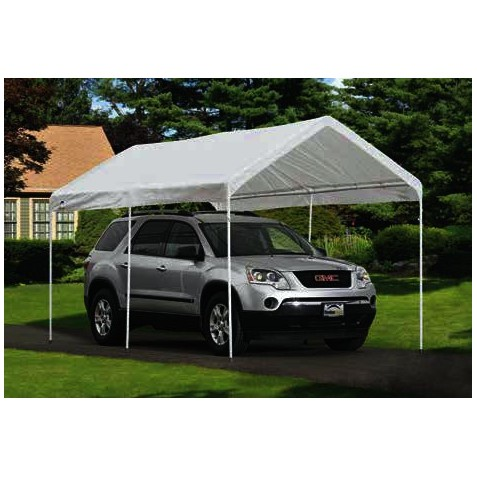 ShelterLogic Tractor Supply 9x16 Replacement Canopy Top - White (25809)