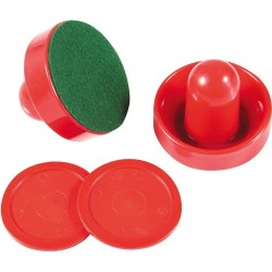 Air Hockey 3 In. Strikers & 2.5 In. Puck Set (NG1008)