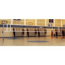 Gared Libero Master Aluminum Telescopic One-Court Volleyball System (7300)