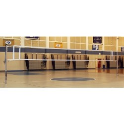 Gared Libero Master Aluminum Telescopic Two-Court Volleyball System Less Sleeves and Covers (GS-7307)