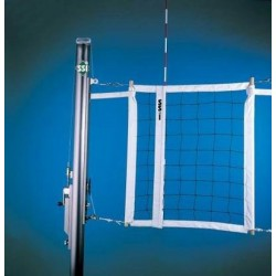 Gared Libero Collegiate Aluminum One-Court Volleyball System Less Sleeves and Covers (GSNB0421DFLR)