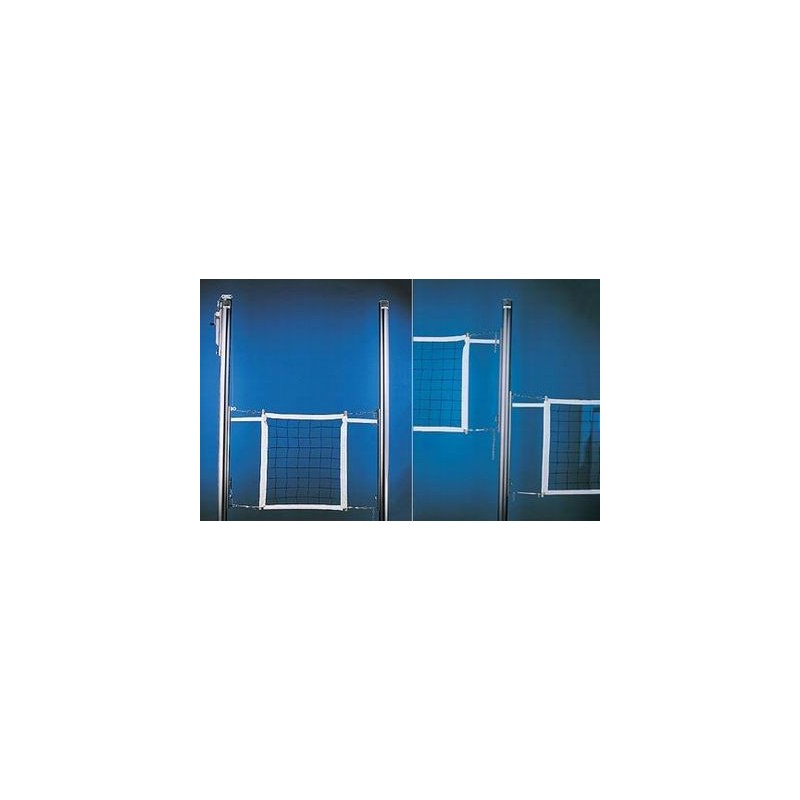 Gared Libero Collegiate Aluminum Two-Court Volleyball System Less Sleeves and Covers (GS-7207)