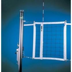 Gared Libero Collegiate Aluminum Three-Court Volleyball System (GS-7203)
