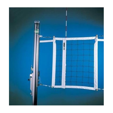 Gared Libero Collegiate Aluminum Three-Court Volleyball System (GS-7203)