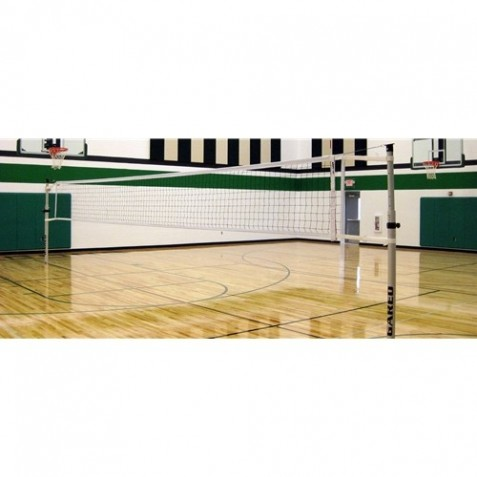 Gared RallyLine Scholastic Aluminum Telescopic One-Court Volleyball System  (GS-6100)