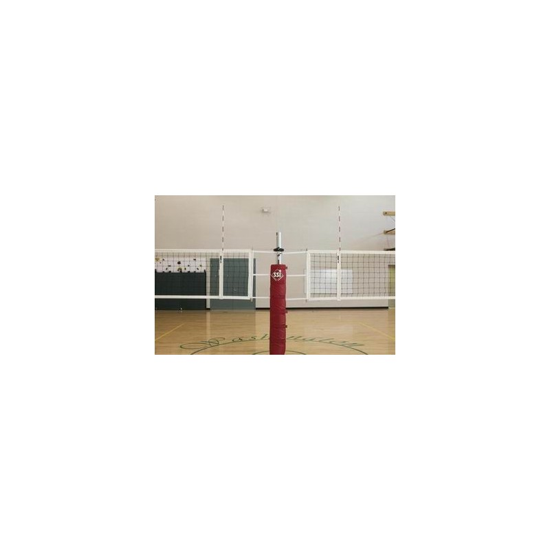 Gared RallyLine Scholastic Aluminum Two-Court Volleyball System Less Sleeves and Covers (GS-6003)