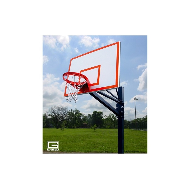 """Gared Endurance Playground System, 6"""" Square Post, 4' Extension, 1272B Steel Backboard, 8550 Goal (GP104S72)"""