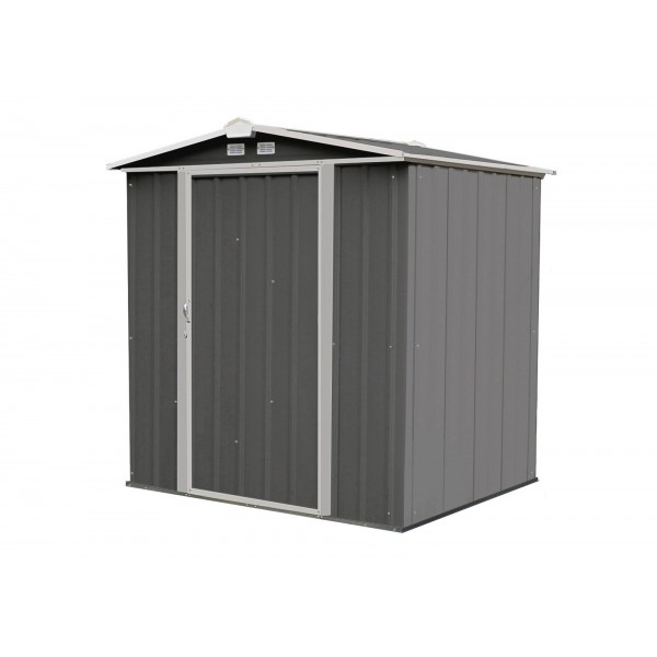 arrow 6x5 ezee storage shed kit low gable 65 in walls vents