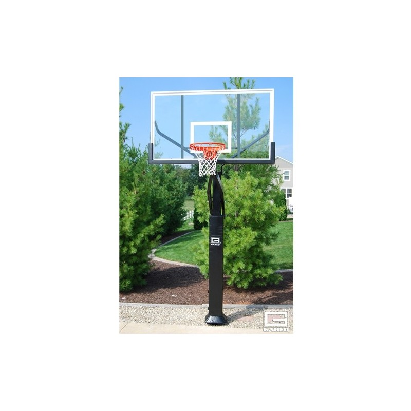 "GARED Pro Jam Basketball System, 6"" Square Post, 42"" x 72"" (GP10A72DM)"