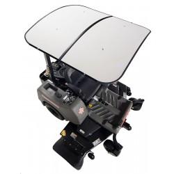 Swisher Femco TuffTop White Sunshade (SS4444W)