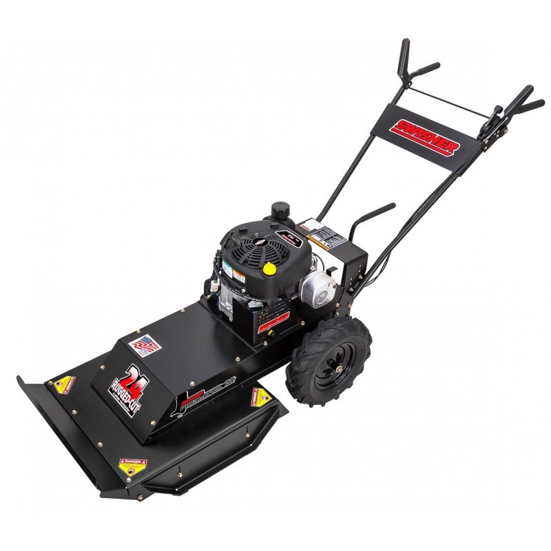 "Swisher Predator 11.5 HP 24"" Walk Behind Rough Cut Trailcutter (WBRC11524)"
