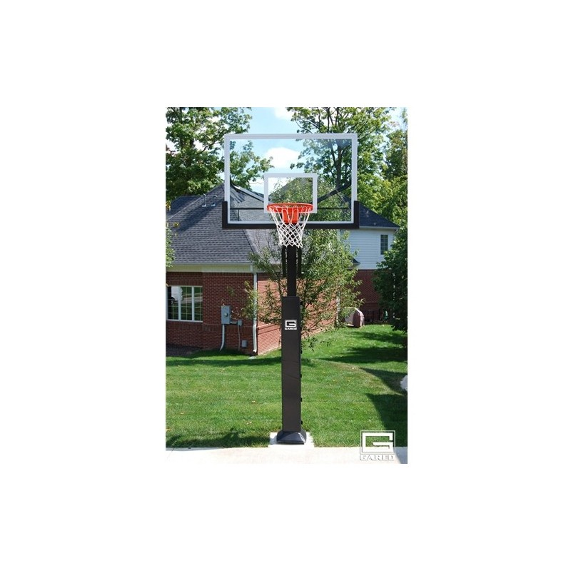 "Gared Collegiate Basketball System, 5"" Square Post, 42"" x 60"" (GP8G60DM)"