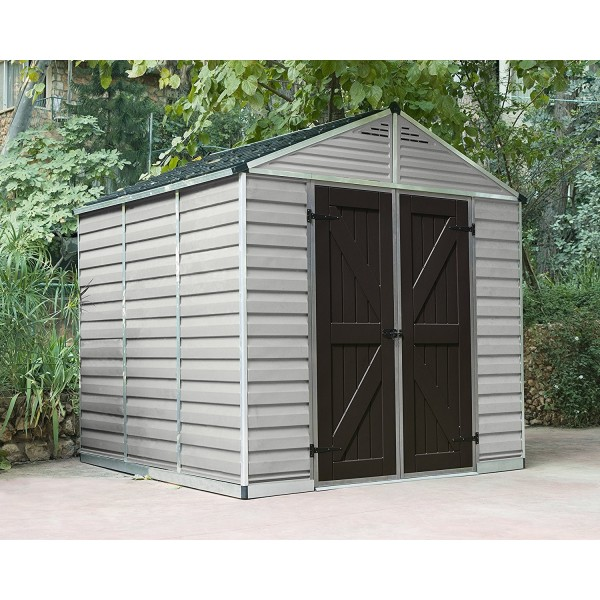 Skylights For Garage: Palram 8x12 Skylight Storage Shed Kit