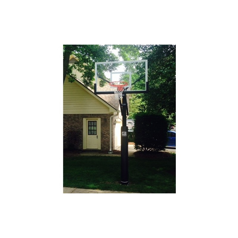"Gared Adjustable Basketball, 5"" Square Post, 42"" x 60"" (GP7G60)"
