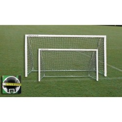 Gared Small Sided 5-A-SIDE Soccer Goal, 4' x 12' (SG50412)