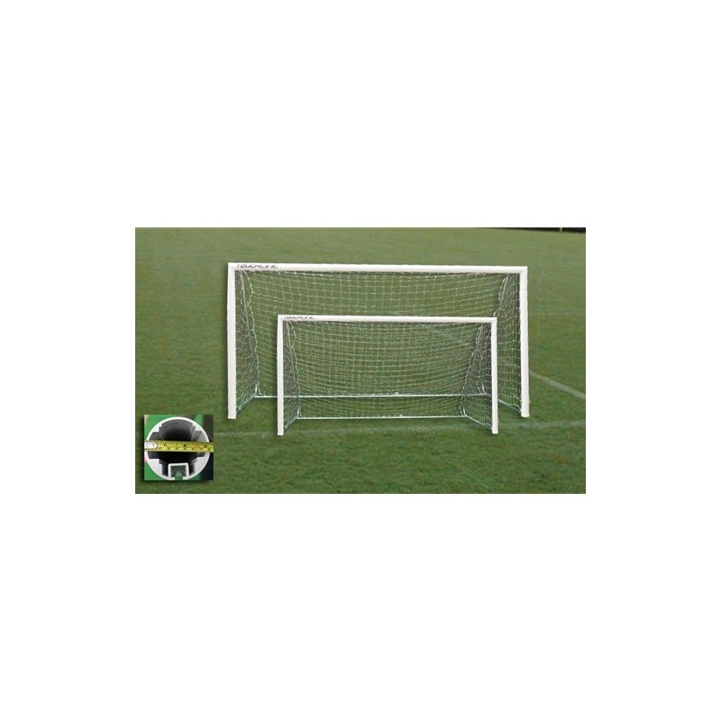 Gared Small Sided 9-A-SIDE Soccer Goal, 7'x16' (SG90716)