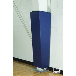 "Gared 6"" Flanges I-Beam Gymnasium Wall Pad - 6' Tall (4206-STD)"
