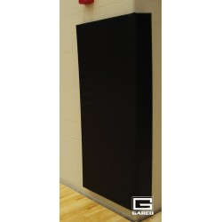 "Gared Corner Wall Pad with Polyurethane Foam and Vonar, Standard Size, 6"" x 6' x 6"" x 2"" (4315-STD)"