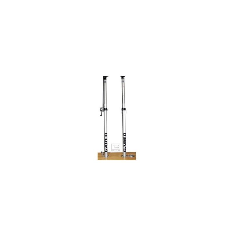 Gared RallyLine Scholastic Aluminum Telescopic Center Upright with Winch (6108)