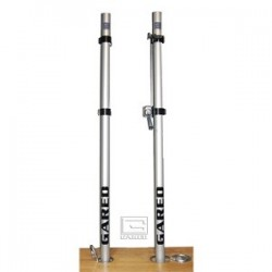 Gared RallyLine Scholastic Aluminum Upright with Winch - One Post (6006)