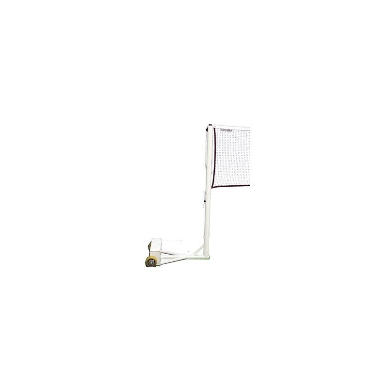 Gared One-Court Heavy Duty Round Portable Badminton System (6640)