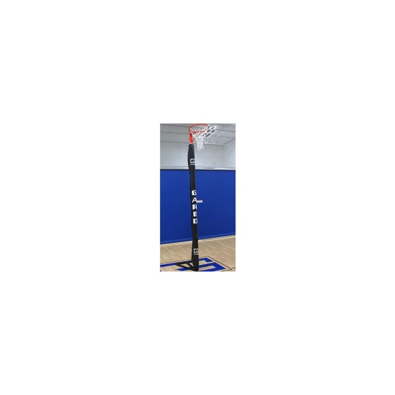 "Gared HOOPLA Portable Steel Netball System w/ Steel Base, 2.5"" (63.5mm) O.D. (8412)"