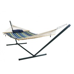 Blue Wave 15' Double Hammock Set - Blue (NU3110)