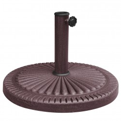 Blue Wave 66-lb Weather Resistant Umbrella Base - Bronze Resin Finish (NU5406)