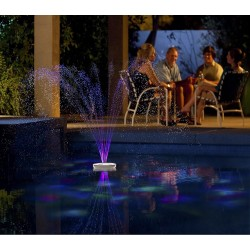 Blue Wave Aquajet Floating Pool Light Show & Fountain (NA4464)
