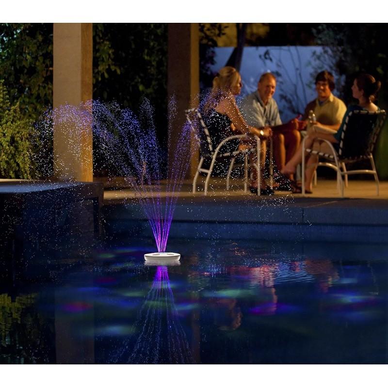 Blue Wave Aquajet Floating Pool Light Show & Fountain (NA4464)