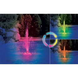Blue Wave Color Changing Led Fountain (NA4440)