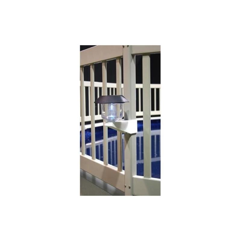 Blue Wave Solar Fence Light With Bracket (NA424)