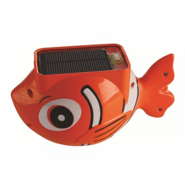 Blue wave solar fish pool light clownfish na4177 for Solar fish for pools