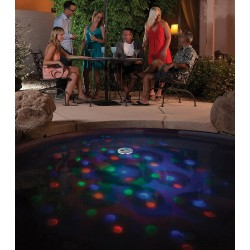 Blue Wave Solar Underwater Light Show Floating Pool Light (NA4135)