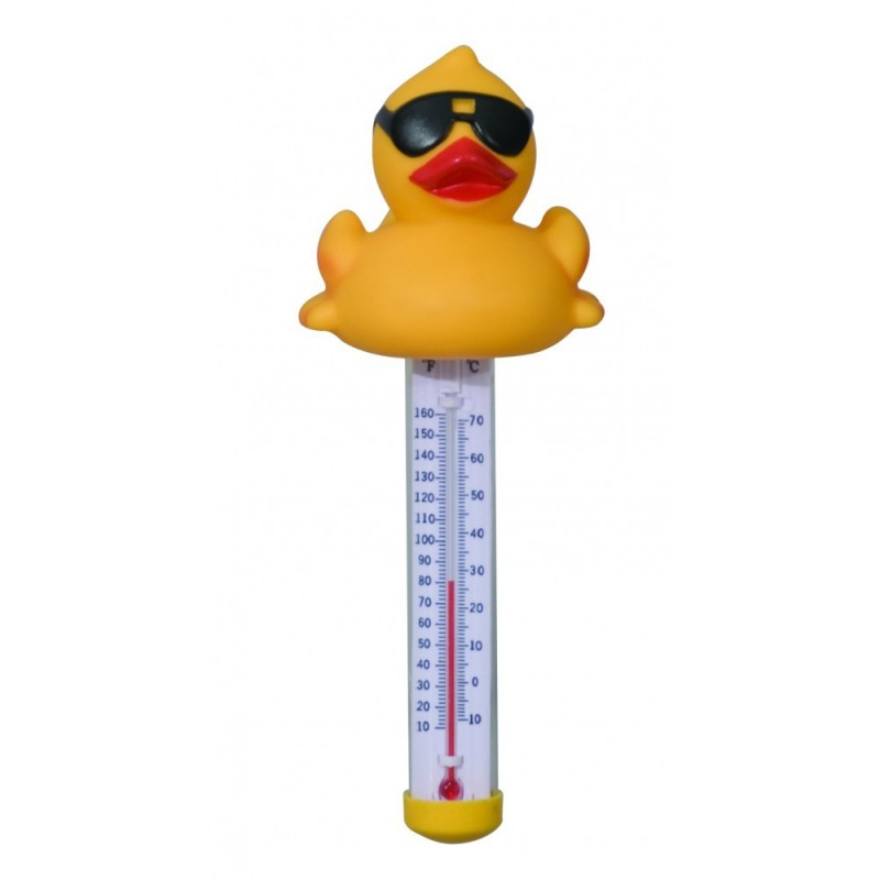 Blue Wave Derby Duck Floating Pool & Spa Thermometer (NA3366)