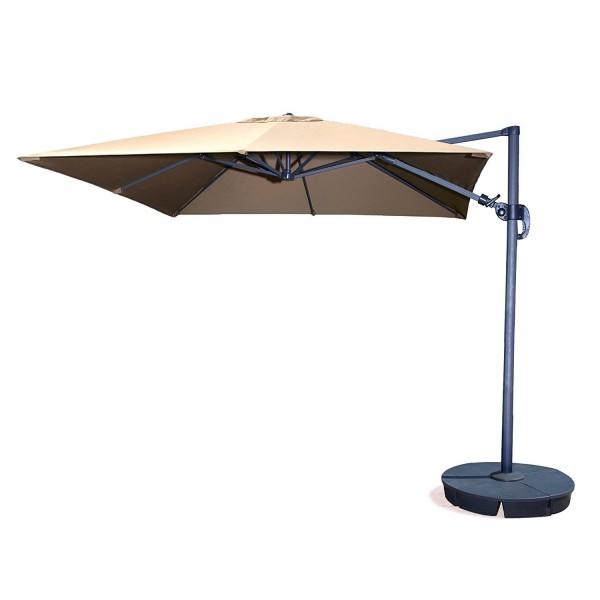 Blue Wave Santorini Ii 10ft Square Cantilever Umbrella
