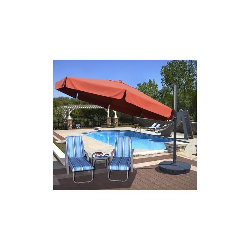 Blue Wave Victoria 13-ft Octagon Cantilever w/ Valance- Terra Cotta Sunbrella Acrylic (NU6790)