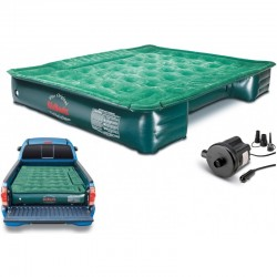 "AirBedz Full Size Short & Long 6'-8' Truck Bed Air Mattress (76""x63""x12"") With Portable DC Pump (PPI-PV202C)"