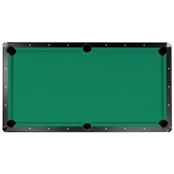 Championship Saturn II Billiards Cloth Pool Table Felt - 7 Ft. - Green (NG253GR)