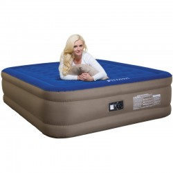 "AirBedz Fullsize 8' Long Bed (95""x63.5""x12"") With Built-in Rechargeable Battery Air Pump (PPI-101)"