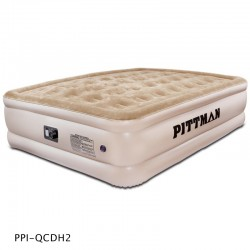 AirBedz Queen Comfort Double High Air Mattress with electrical built-in pump (PPI-QCDH2)