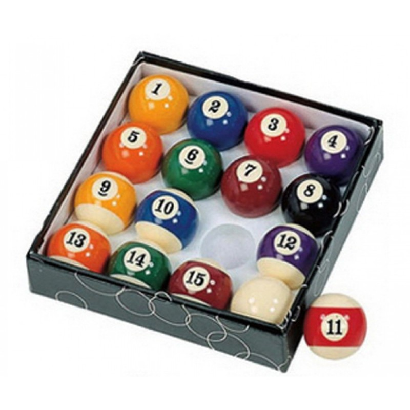Pool Table Regulation Billiard Ball Set (NG2545)