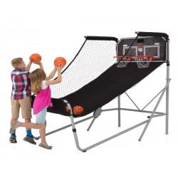 Lifetime Double Shot Arcade Style Basketball Hoops Game - Heavy Duty 90056