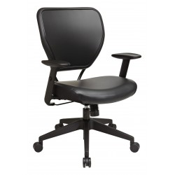 Space Seating Black Vinyl over AirGrid Back Chair (5500V)