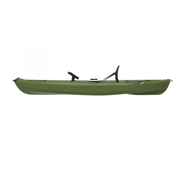 Lifetime tamarack olive muskie angler 10 foot sit on top for Lifetime fishing kayak